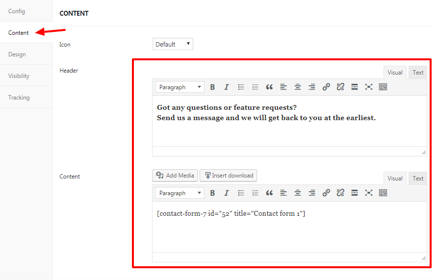 How To Add A Contact Form Using Floating Button Wpfomify