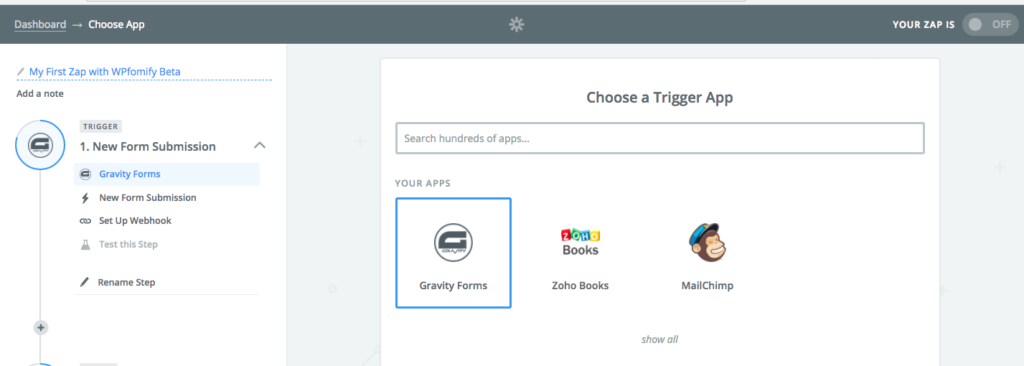 How to integrate Zapier addon with WPfomify? - WPfomify